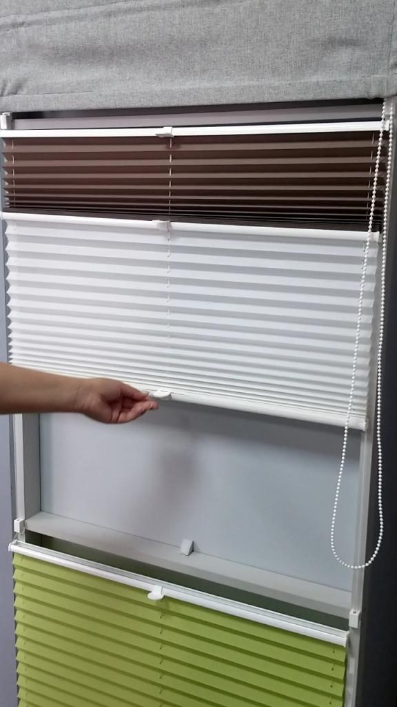 Жара? Защитите свой дом от палящего солнца. Плиссе на окна «День-Ночь»