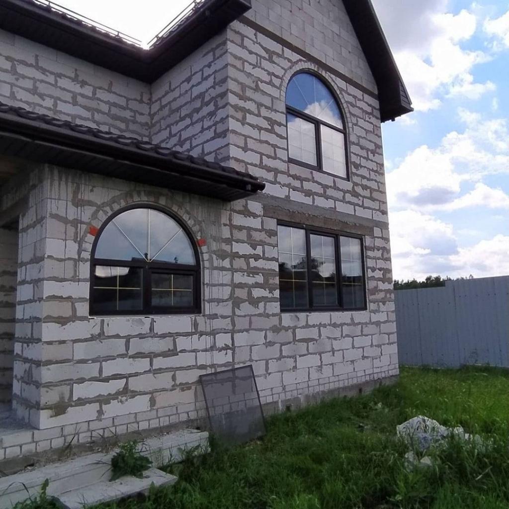 Установили окна REHAU в загородный дом в Калинино. Посмотрите на эту красоту!